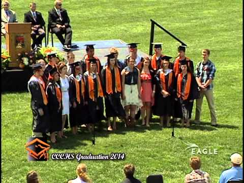 Clay Center Community High School Graduation 2014