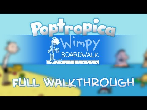 Poptropica - Wimpy Boardwalk Island Full Walkthrough