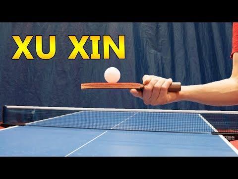 The Xu Xin Trick Shot