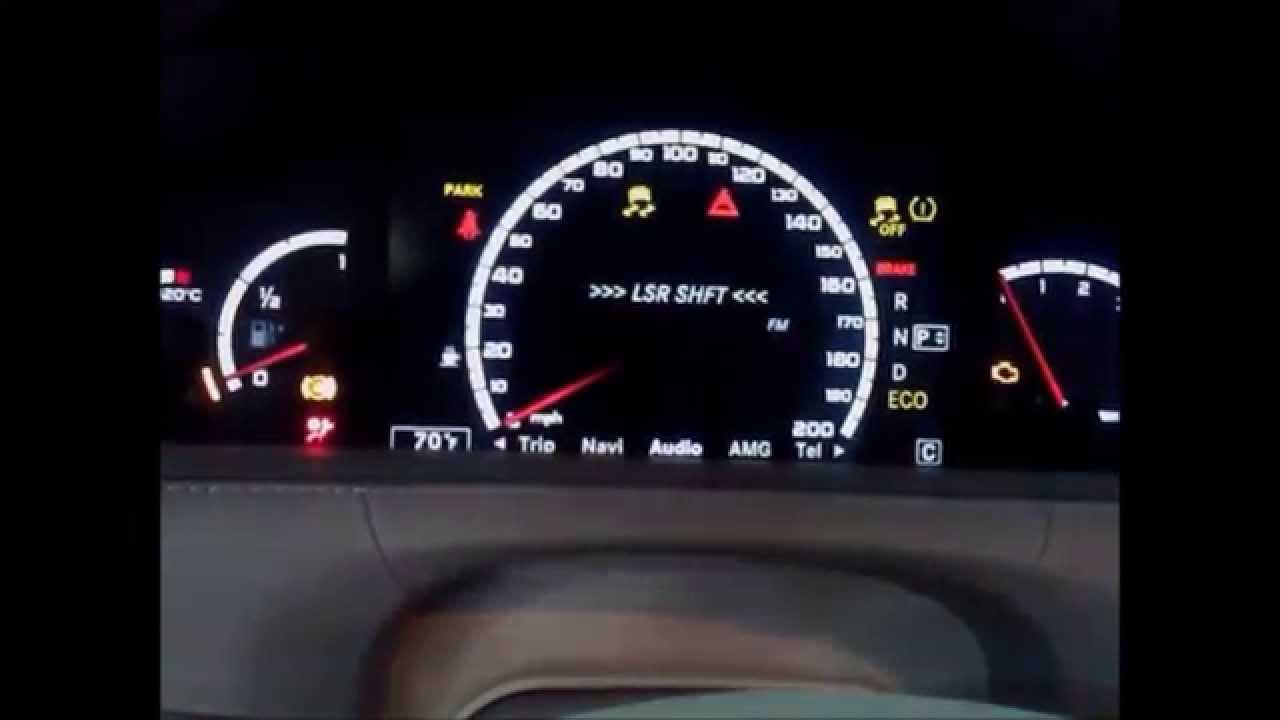 Mercedes Benz S63 Amg Escort Radar Detector Integration