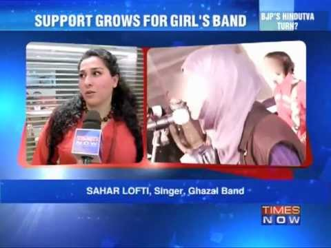 Pragaash: Support Grows For Girl Band. video