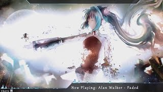 Video clip Nightcore - Faded
