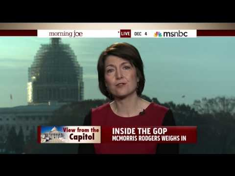 Chair Cathy McMorris Rodgers on MSNBC's Morning Joe