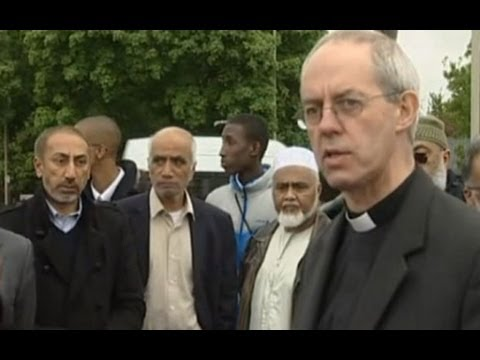 Archbishop praises unity against Woolwich attack
