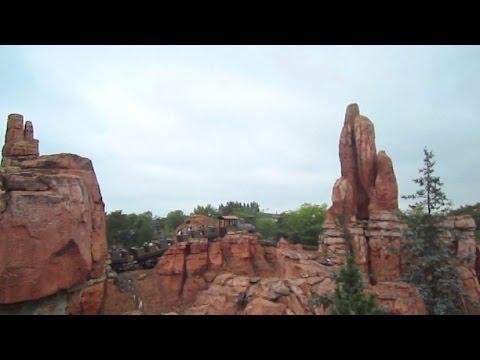 Big Thunder Mountain front seat on-ride HD POV Disneyland Park Paris