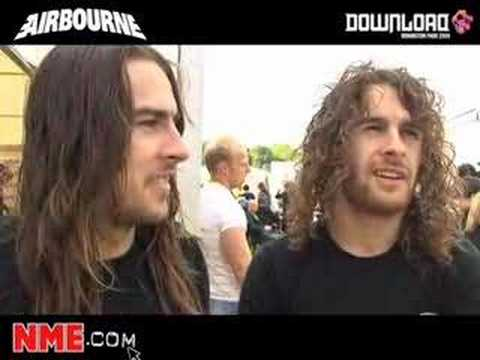 NME Video: Airbourne at Download 2008 Video