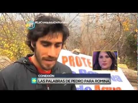 Estan Juntos Romina y Pedro Mas Vale Tarde Romina Ansaldo