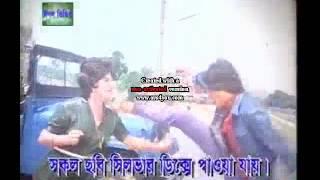 Nutone shows karate in Bangla film
