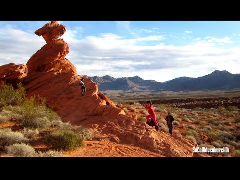 Valley of Fire State Park Nevada. A look at Valley of Fire State Park - HD