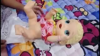 Bermain Boneka Baby Alive - Feeding Baby Alive - Boneka bisa makan dan bisa pup