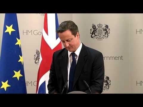 David Cameron, UK Prime Minister - EU Summit Press Conference, Dec. 2010