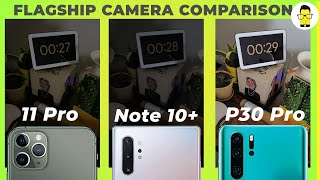 iPhone 11 Pro vs P30 Pro vs Note 10+ camera comparison: Apple kills it this year!