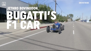 Driving Pur Sang's Bugatti Type 35 race car