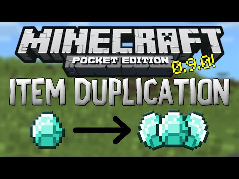[0.9.2] Duplicate Items Glitch - Minecraft Pocket Edition