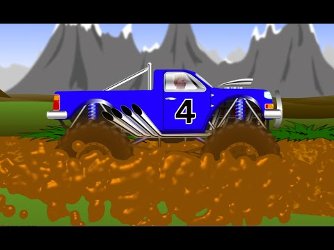 MONSTER TRUCK Stuck in the MUD