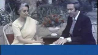 Interview with Indira Gandhi by Chris Panos