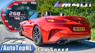 BMW Z4 M40i ACCELERATION & TOP SPEED 0-268KMH   0-166MPH LAUNCH CONTROL by AutoTopNL