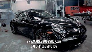 Certified Porsche Body Shop in Baltimore