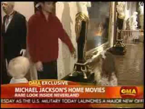 Michael Jackson, Paris y Michael Junior home movies