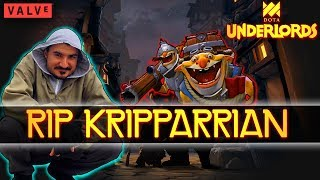 Krippers = Rippers (The 6 Undead Techies Strat Actually Worked) | Dota Underlords