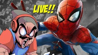 LET'S PLAY SOME SPIDER-MAN LIVE!