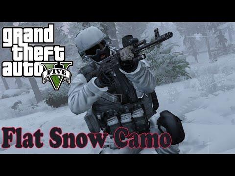 Flat Snow Camo