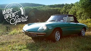 This Alfa Romeo Spider Is A Wide Open Spirit