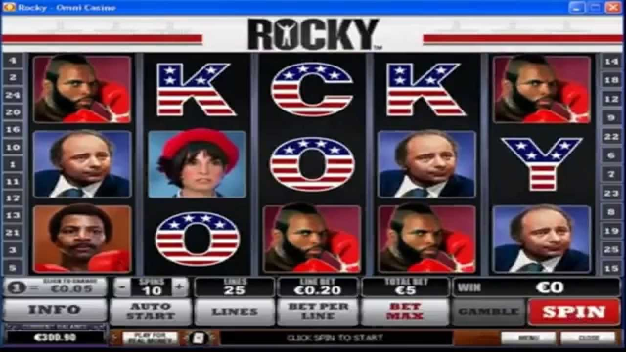Rocky slots free