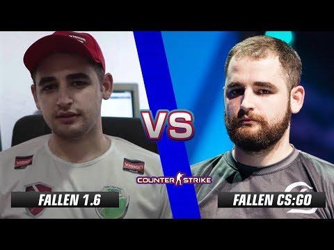 FalleN CS 1.6 vs FalleN CS:GO