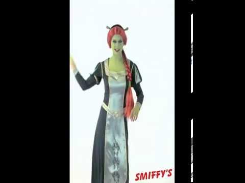 Shrek Princess Fiona Fancy Dress Costume Party Video - Dreamworks Movie