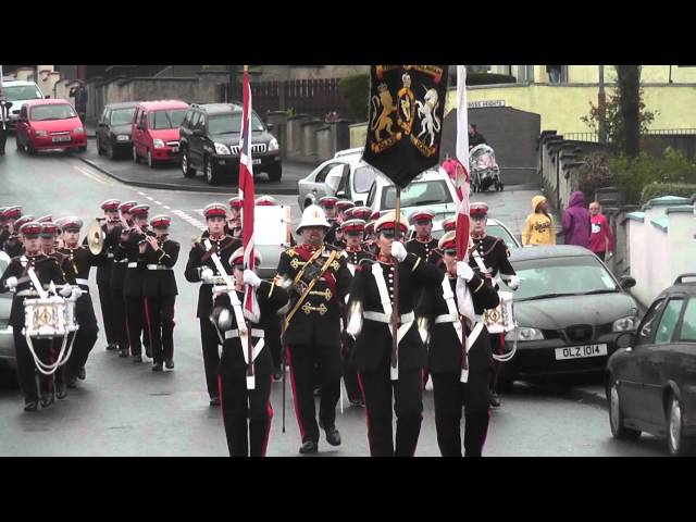 Pride Of Ballinran FB @ Pride Of The Hill FB Parade 2012