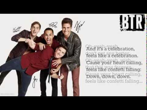 Big Time Rush-Confetti Falling [Lyrics]