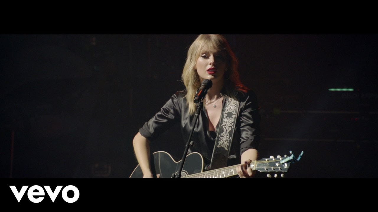 "Taylor Swift - ""The Man (Live From Paris / 2019)""のギター弾き語り映像を公開 2020年2月18日配信開始 thm Music info Clip"