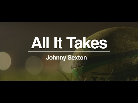 Johnny Sexton All It Takes Three