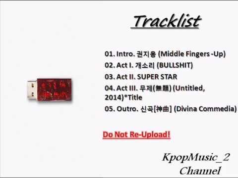 [ALBUM]  G DRAGON 지드래곤– 권지용 KWON JI YONG