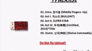 Download Lagu [ALBUM]  G DRAGON 지드래곤– 권지용 KWON JI YONG Gratis STAFABAND