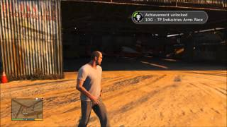 Grand Theft Auto V (GTA V) -  TP Industries Arms Race Trophy / Achievement Guide