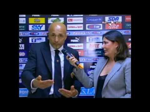 Luciano Spalletti Lazio-Roma 4-2 Rosicone!!!