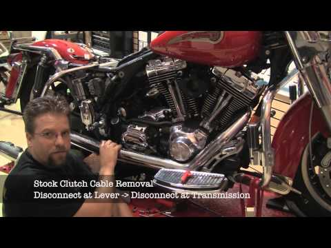 TOTW LA Choppers Motorcycle Handlebar. Lines and Cables Installation Part 2 of 2