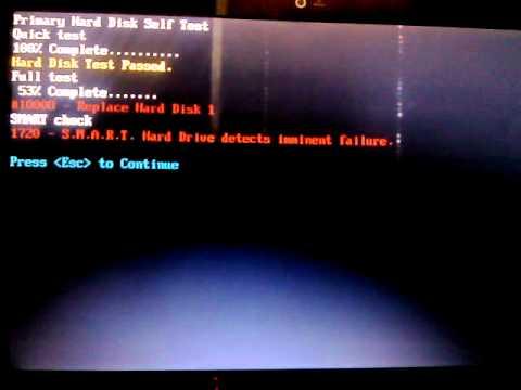 Hard Disk Imminent Failure