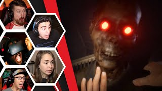Let's Players Reaction To The Forest & Zombie Jumpscare | Home Sweet Home Chapter 2