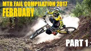 MTB fail compilation 2017 February