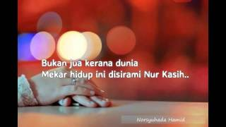 Inteam - Nur Kasih (Lirik)