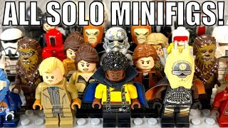 All LEGO Star Wars SOLO Movie Minifigures!