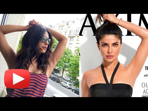 Priyanka Chopra REACTS On Her UNDERARMS Controversy Pit-Stopping