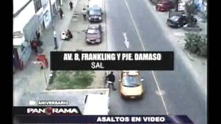 Asaltos en video: la delincuencia se pone al acecho durante las fiestas