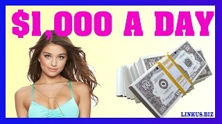 How To Make Money Online Fast - Case Study 1 Earn $1,000 Per Day