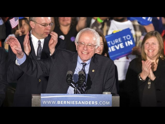 Bernie Sanders pulls out huge win in New Hampshire