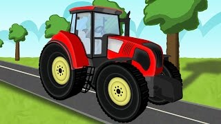 ☻ Tractor    the tale of tractors   Bajki dla dzieci o Traktorach ☻