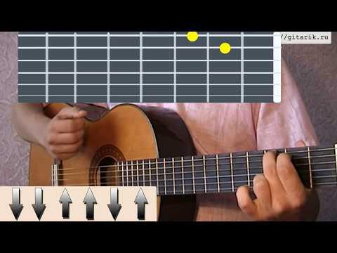 Испанец Урок испанская гитара